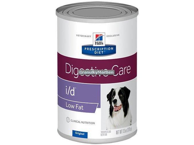 Konzerva Hills Canine Diet id low fat