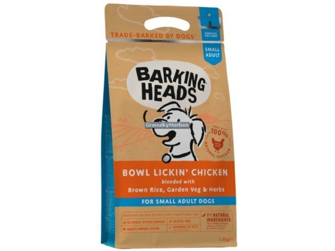 Barking Heads Small Breed Bowl Lickin Chicken