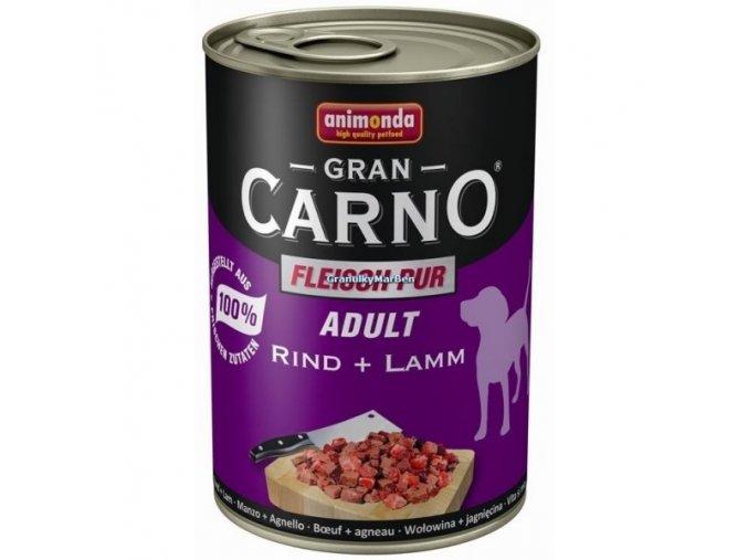 Konzerva Animonda Gran Carno Adult Hovězí a jehněčí 400g