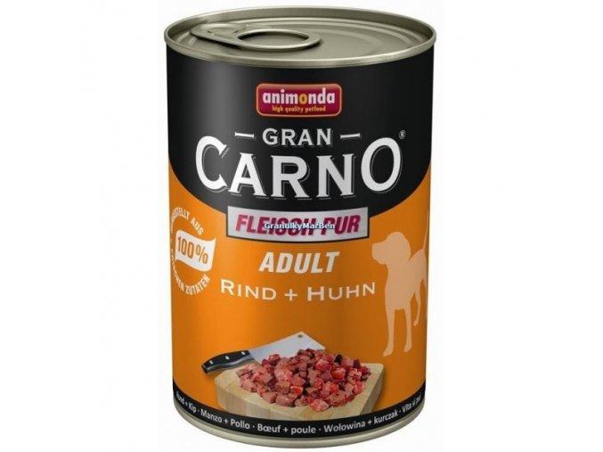 Konzerva Animonda Gran Carno Adult Hovězí a kuřecí 400g