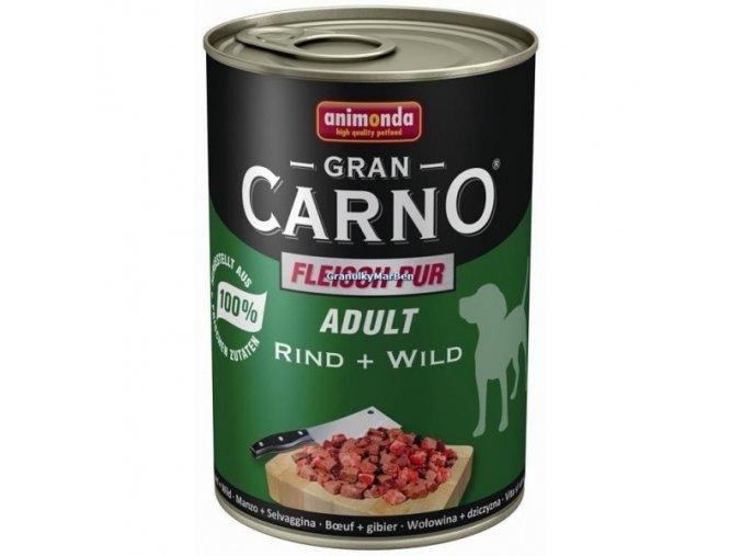 Konzerva Animonda Gran Carno Adult Hovězí a zvěřina 400g