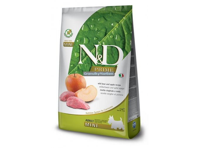 nd prime adult mini wild boar apple