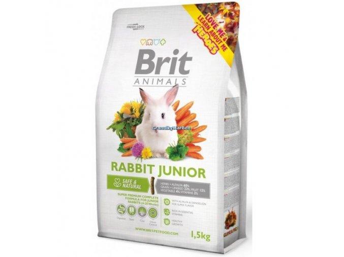 Brit Animals Rabbit Junior Complete (Králík) 1,5kg