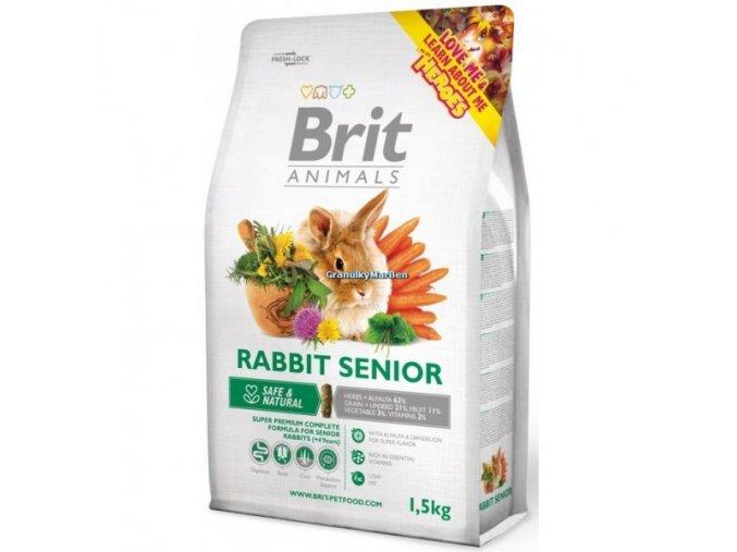 Brit Animals Rabbit Senior Complete (Králík) 300g