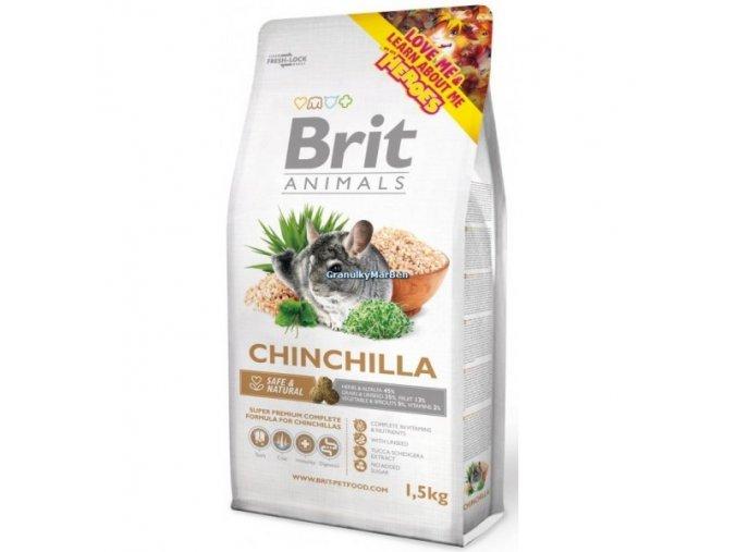 Brit Animals Chinchilla Complete (Činčila) 300g