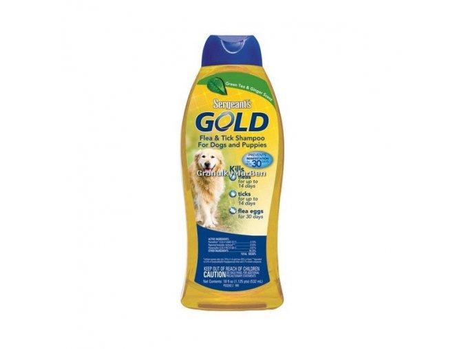 Antiparazitní šampon Sergeanťs Gold 532ml