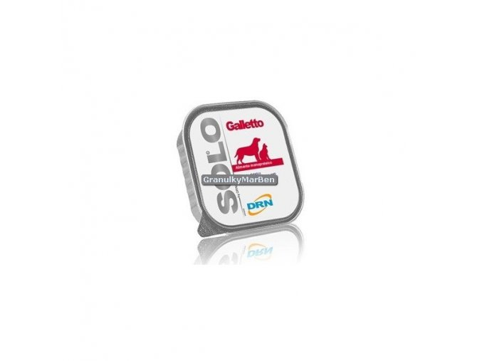 Vanička SOLO Galleto 100% (kohoutek) 300g