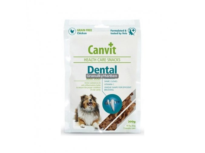 Canvit Snacks Dental Hmotnost  200g