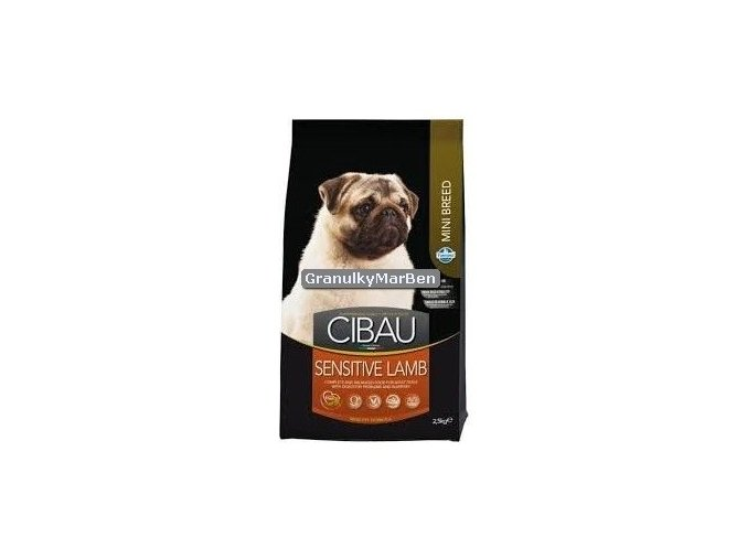 Cibau Adult Sensitive Lamb Rice Mini