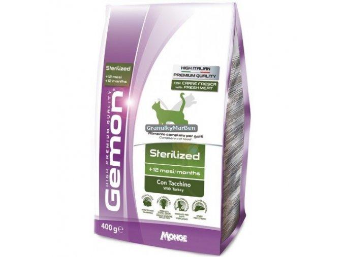 Gemon Cat Sterilized Krůta Hmotnost  20kg