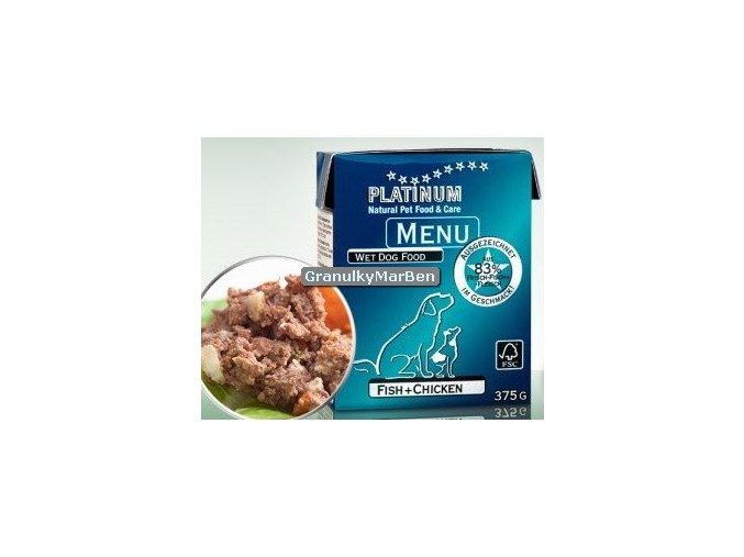 Platinum Dog Menu Pastika Kure ryby