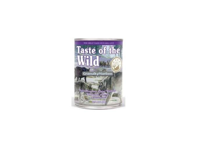 Konzerva Taste of the Wild Sierra Mountain Canine 390g