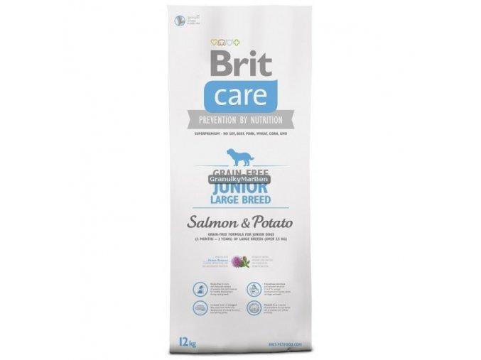 Brit Care Dog Grain-free Junior Large Breed Salmon & Potato