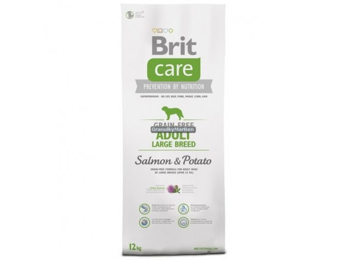 Brit Care Dog Grain-free Adult Large Breed Salmon & Potato