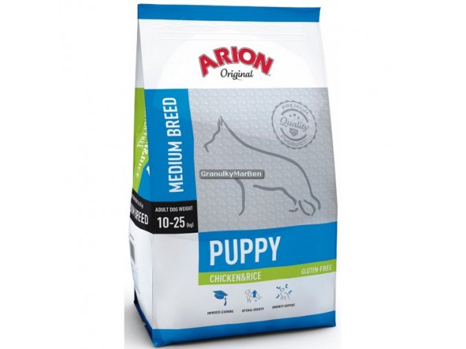 Arion Dog Original Puppy Medium Chicken & Rice