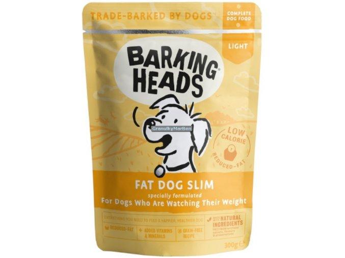 kapsicka Barking Heads Fat Dog Slim