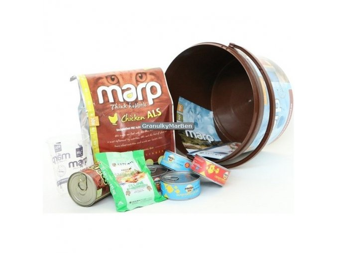 Marp Kočičí balíček s krmivem