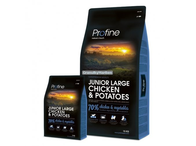 Profine Junior Large Breed Chicken and Potatoes