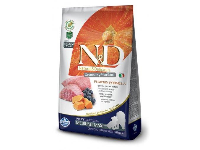 ND Grain Free Canine Pumpkin Lamb Puppy Medium Maxi
