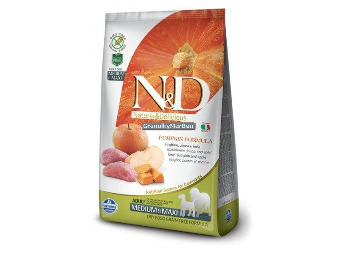 ND Grain Free Canine Pumpkin Boar Adult Medium Maxi