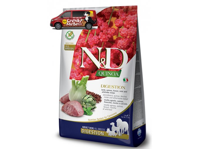 ND Grain Free DOG Quinoa Digestion Lamb