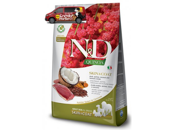 ND Grain Free DOG Quinoa Skin and Coat Duck