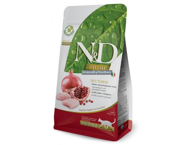 nd prime neutered chicken pomegranate