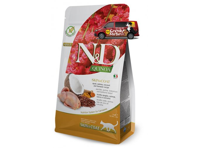 nd cat quinoa skin coat quail