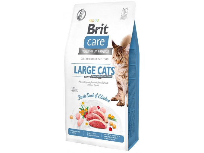 Brit Care large cats duck chicken