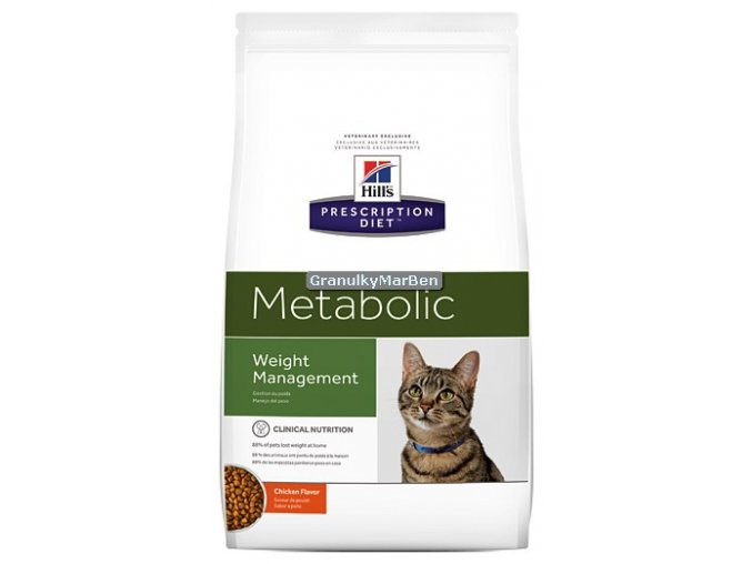 Hills Feline diet metabolic