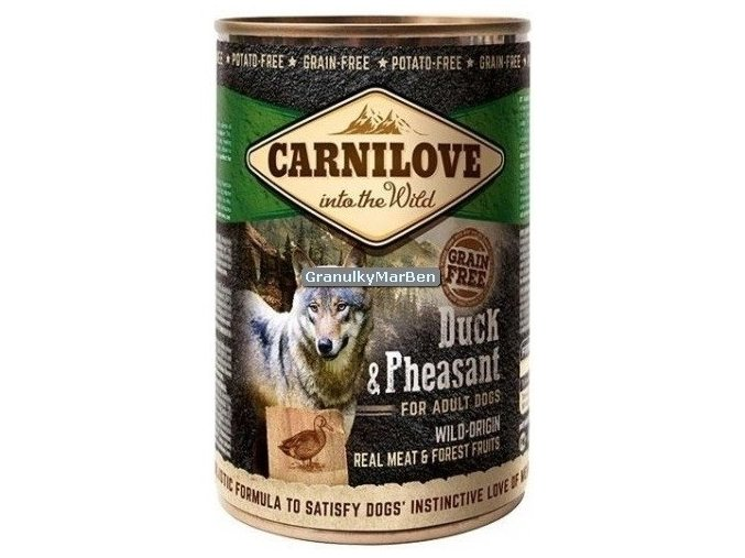 Konzerva Carnilove Duck Pheasant