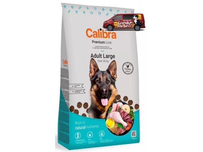 calibra dog premium adult large 12kg
