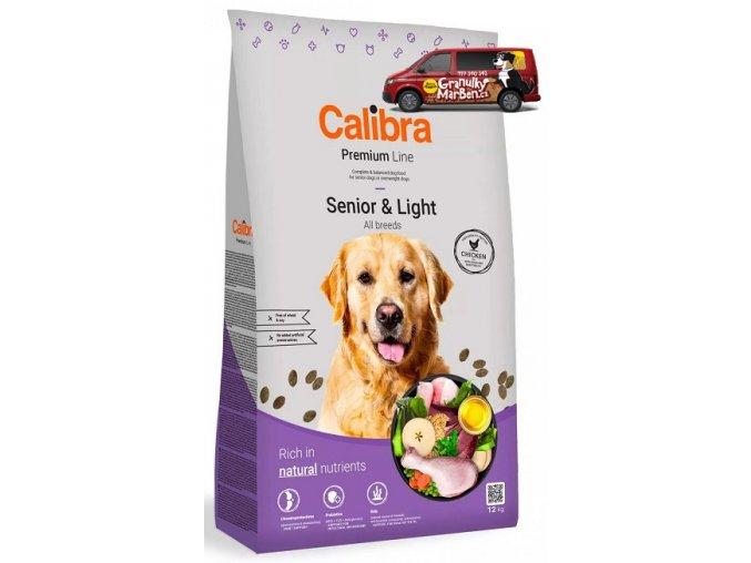 calibra dog premium senior light 12kg