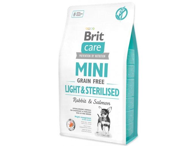 Brit Care Dog Mini Light Sterilised