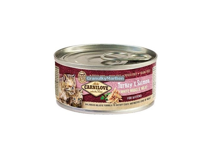 konzerva carnilove cat turkey Kitten