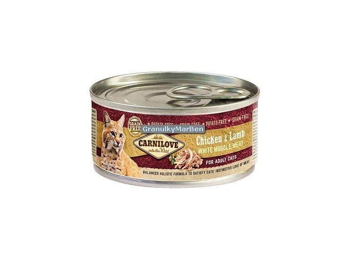 konzerva carnilove cat chicken lamb