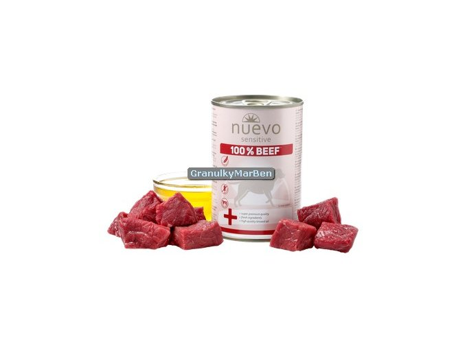Nuevo Dog Sensitive Hovezi Monoprotein