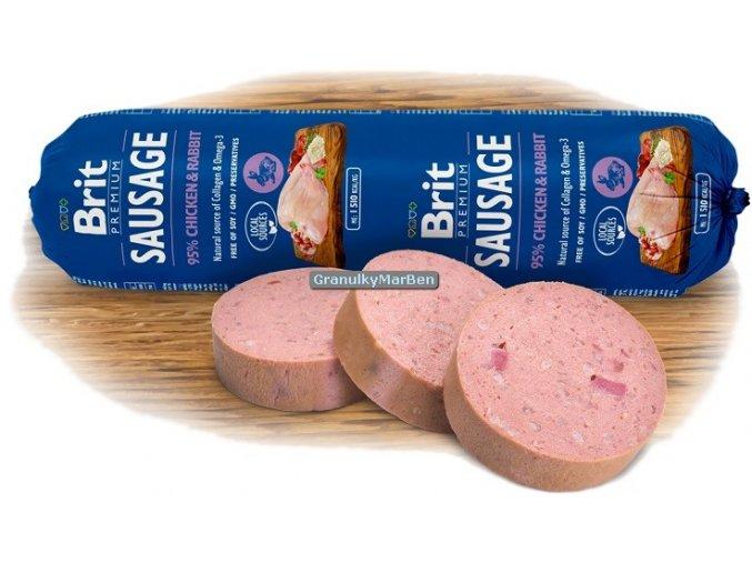 Brit Premium Sausage chicken rabit