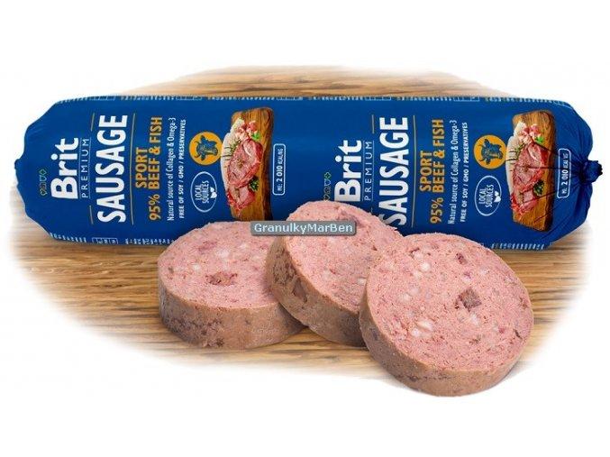 Brit Premium Sausage sport beef fish