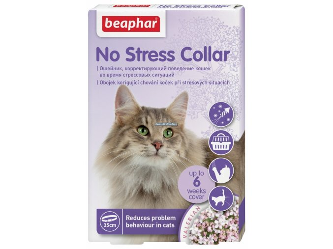 no stress collar cat 35cm original