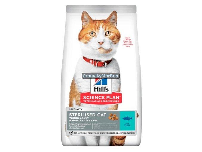 hills feline sterilised cat young adult tuna