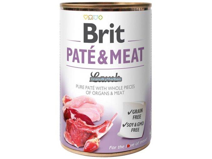brit konzerva pate lamb