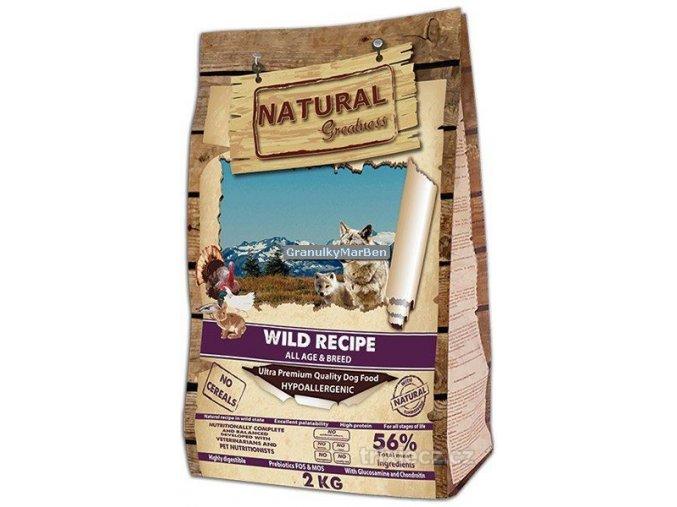 Natural Greatness Wild Recipe All Breed Kachna kruta kure