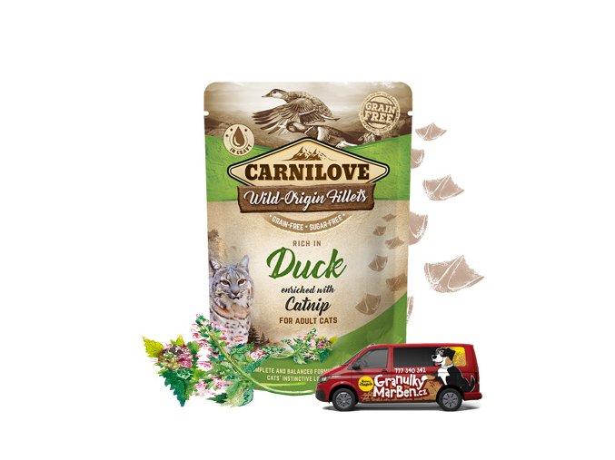 Carnilove Cat Pouch Duck