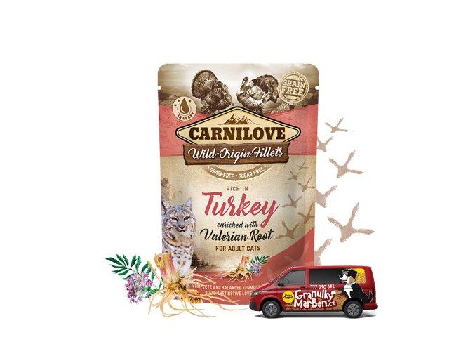 Carnilove Cat Pouch Turkey