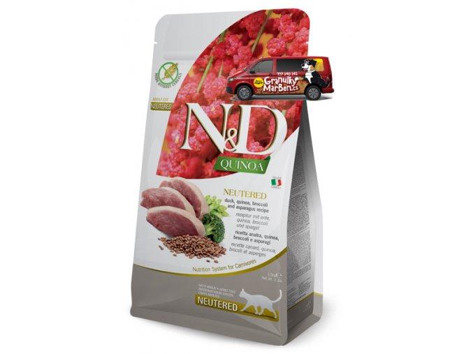 nd quinoa feline duck neutered