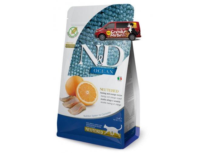 nd ocean neutered herring orange