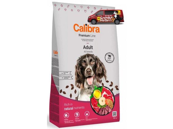 calibra dog premium adult beef 12kg