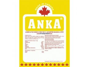 Anka Dog Lamb & Rice