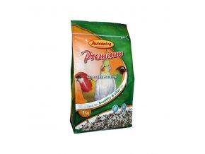Avicentra Premium malý a střední papoušek 1kg